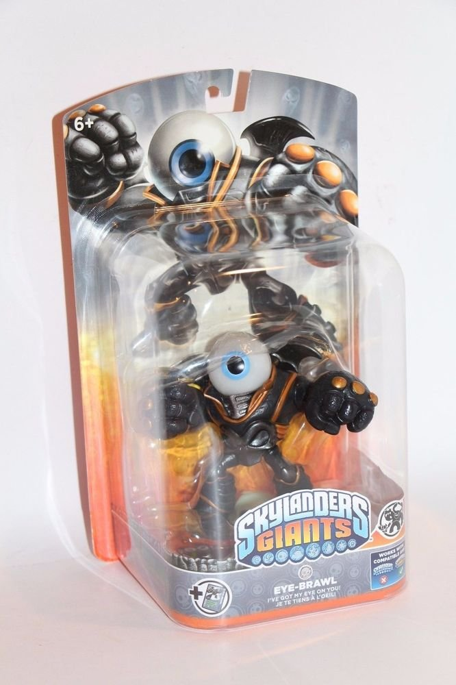Skylanders Giants EYE-BRAWL New FACTORY Sealed SHIPS BOXED Same Day