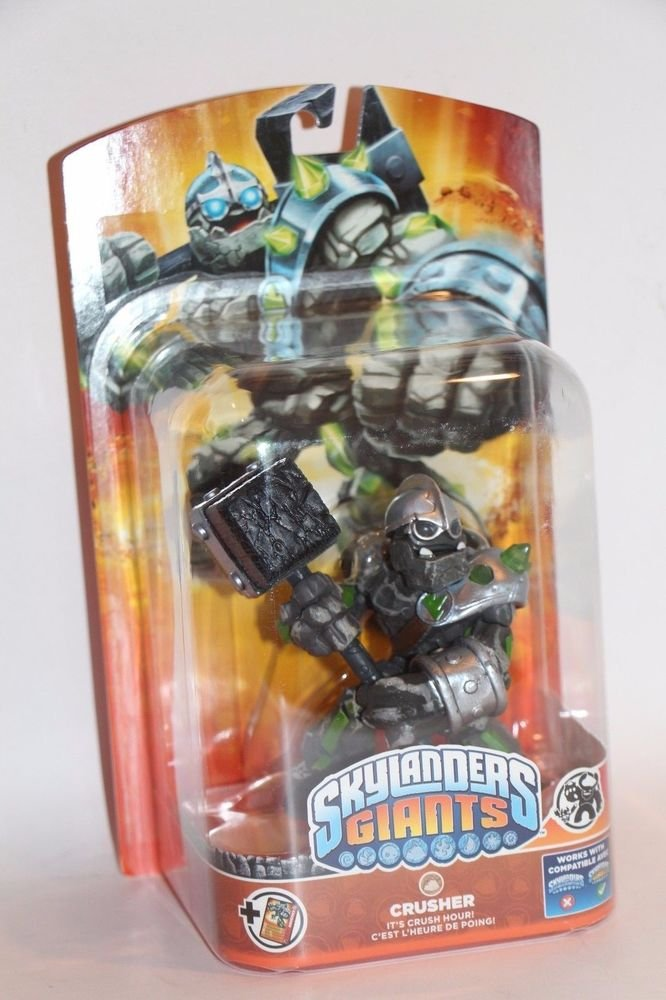 Skylanders Giants CRUSHER New FACTORY Sealed  SHIPS BOXED Same Day