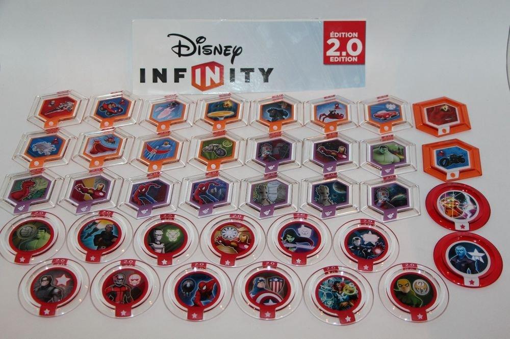 Disney infinity 2.0 Marvel Super Hero Power Discs Set Shipping 1st Disc ONLY NEW