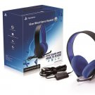 Sony Playstation Silver Wired Stereo Headset 7.1 Virtual Surround Ships Same Day