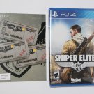 Sony Playstation 4 PS4 SNIPER ELITE III 3 & DAY ONE DLC's NEW SHIPS SAME DAY