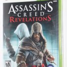 Xbox 360 ASSASSIN'S CREED REVELATIONS NEW SEALED NTSC US/Canada