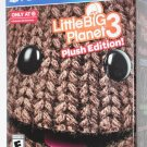 Playstation 4 PS4 Little Big Planet 3 PLUSH DAY ONE EXCLUSIVE TARGET EDITION NEW