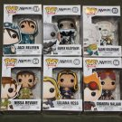 FUNKO POP Magic The Gathering Garruk Jace Ajani Nissa Liliana Chandra All 6 NEW!