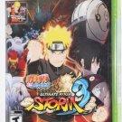 Xbox 360 Naruto Shippuden: Ultimate Ninja Storm 3 W/ GOKU DLC & TRADING CARD NEW