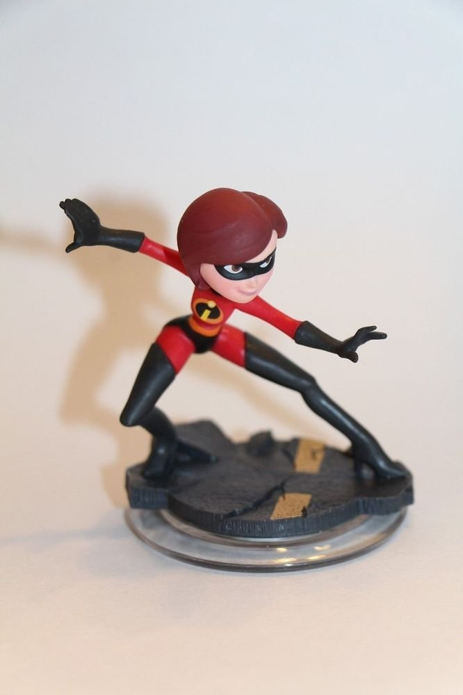 Disney Infinity 1.0 Mrs. Incredible Figure ONLY Loose Ships Same Day BOXED