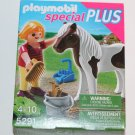 Playmobil Special PLUS 5291 Girl with Horse pony NEW SHIPS SAME DAY