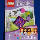 Lego FRIENDS BRICK LED KEY LIGHT Key Chain PURPLE LGL-KE3 NEW! Great Gift!