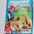 Playmobil City Life 5209 Guy with Golden Retriever Dogs NEW Ships Same Day!