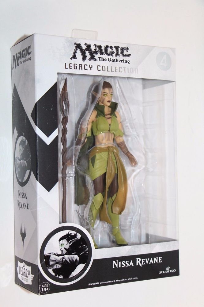 Funko Magic The Gathering Legacy Collection NISSA REVANE Figure #4 NEW