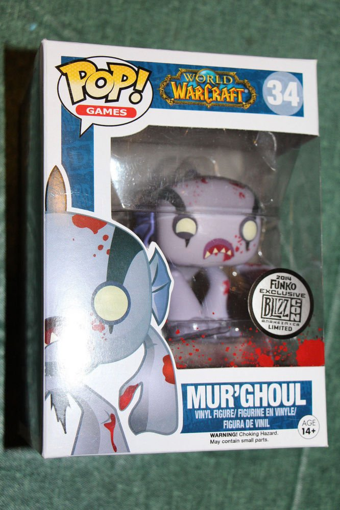 Blizzcon 2014 exclusive funko Pop  MUR'GHOUL vinyl figure NEW IN BOX
