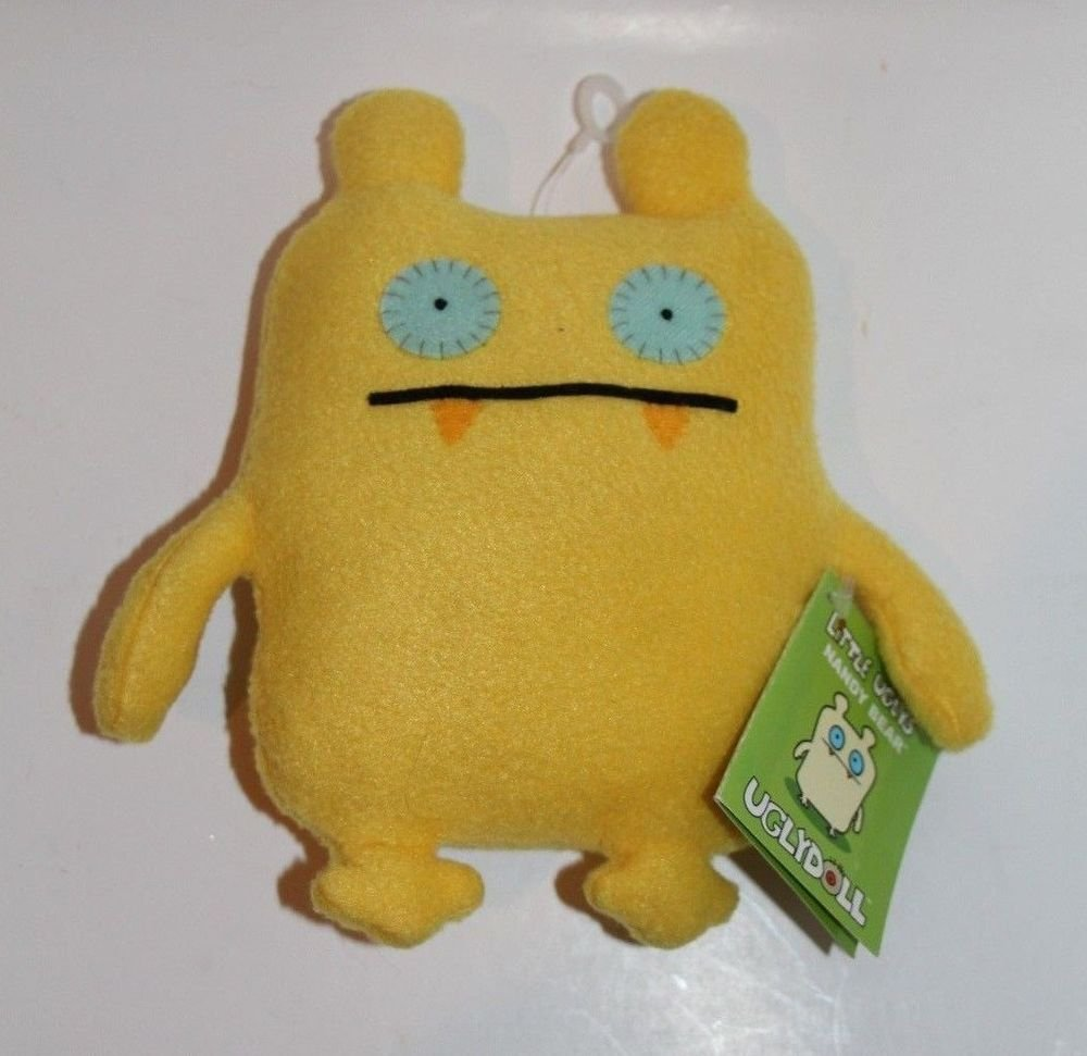 UGLY DOLL Gund NANDY BEAR Yellow NEW with tags