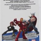 Black Widow Iron Man & Thor Disney Infinity 2.0 Marvel Web Code CARD ONLY