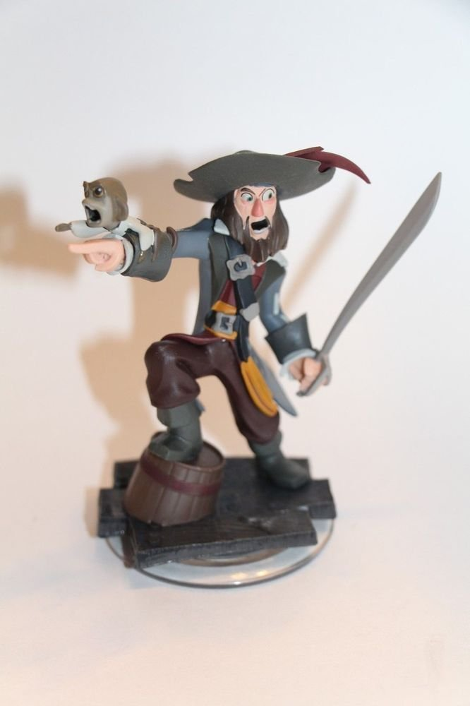 Disney Infinity 1.0 BARBOSSA Figure ONLY Loose Ships Same Day BOXED