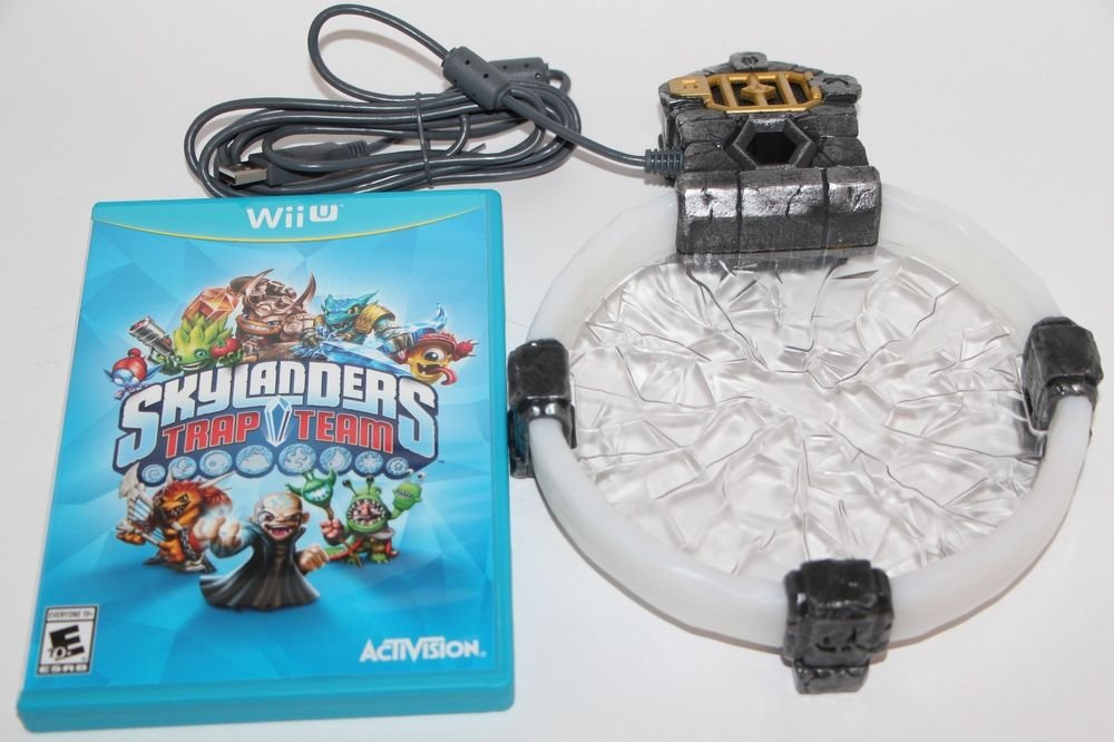 Nintendo Wii U Skylanders Trap Team Starter Game And Portal of Power ONLY New