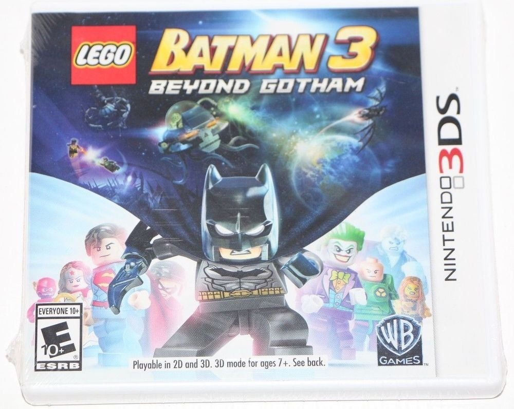 Nintendo 3DS LEGO Batman 3: Beyond Gotham NEW SEALED SHIPS SAME DAY