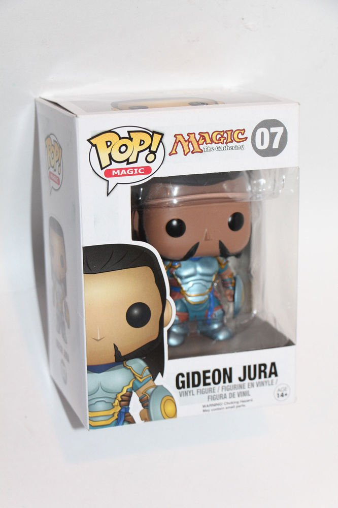 Funko Pop  Magic The Gathering GIDEON JURA 07 vinyl figure Ships Boxed Same Day