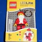 Lego SANTA LED KEY LIGHT Key Chain Original Package NEW! great stocking stuffer