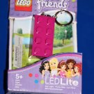 Lego FRIENDS PINK 2 X 4 Brick LED KEY LIGHT Key Chain LGL-KE5F NEW! Great Gift