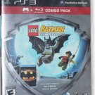 Playstation 3 PS3 LEGO Batman The Video Game BLU-RAY Movie COMBO PACK NEW SEALED