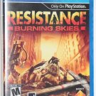 Playstation VITA PS VITA Resistance: Burning Skies NEW SEALED SHIPS SAME DAY