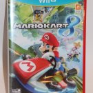 Nintendo Wii U MARIO KART 8 ORIGINAL GAME CASE AND MANUAL MINT Ship Same Day