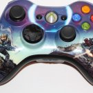 Genuine Microsoft Xbox 360 HALO 3 SPARTAN  WIRELESS CONTROLLER VERY GOOD SHAPE