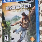 Playstation VITA PSVITA UNCHARTED: GOLDEN ABYSS New Ships Same Day!