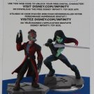 Guardians of the galaxy Disney Infinity 2.0 Star-Lord Gamora Web Code Card Only