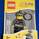 Lego Lite CITY MASTERMIND BANDIT ROBBER LED KEY LIGHT Key Chain LGL-KE33