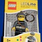Lego Lite CITY MASTERMIND BANDIT ROBBER LED KEY LIGHT Key Chain LGL-KE33
