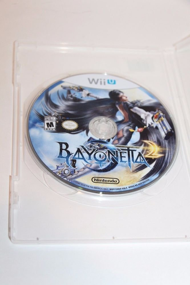 Nintendo Wii U BAYONETTA 2 DISC ONLY VERY GOOD CONDITION  Ship Same Day