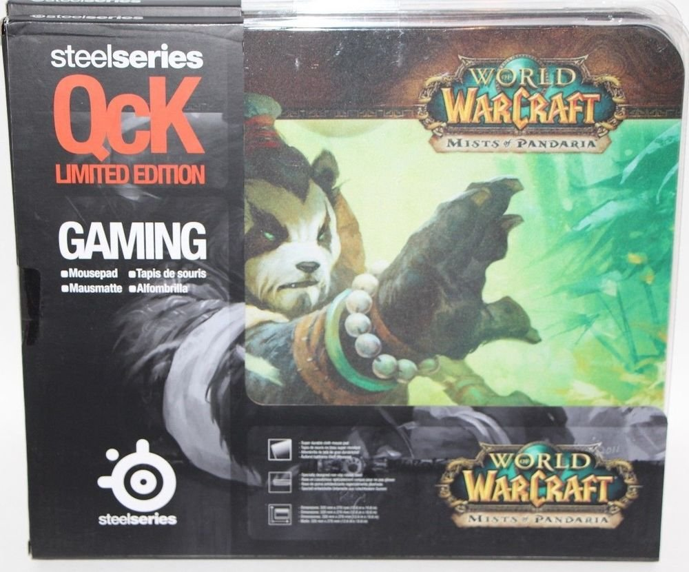 "World of Warcraft WoW Steelseries QcK Limited Edition Mouse Pad Large 10"" X 12"""