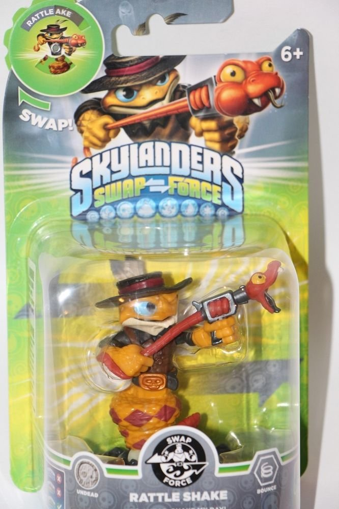 Skylanders Swap Force Rattle Shake NEW FACTORY SEALED SHIPS SAME BUSINESS DAY!