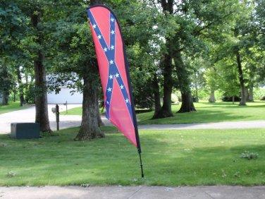 Confederate Feather Flag