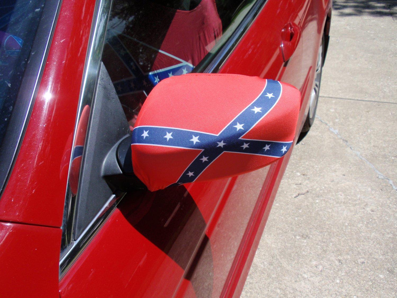 Rebel Flag Seat Covers For Atv Velcromag