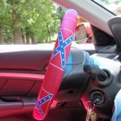 Confederate Flag Steering Wheel Cover
