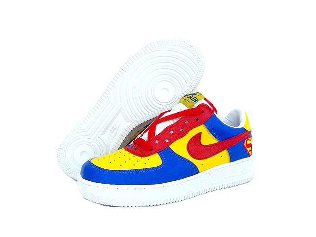 Nike Air Force 1 - Superman Edition