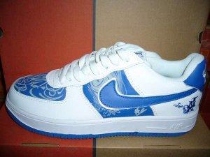 Nike Air Force 1 - LA Edition White/Blue Low