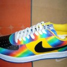 Nike Air Force 1 - Rainbow/Yellow/Black/White Low