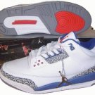 Air Jordan 3 Retro Laser White/Blue/Red