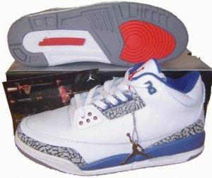 Air Jordan 3 Retro Laser White/Blue/Red