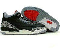 Air Jordan 3 Retro Black/Cement Gray