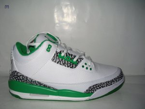 Air Jordan 3 Retro White/Green