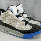Nike Air Jordan Dub Zero - Black/Gold/LaserBlue/White Mid