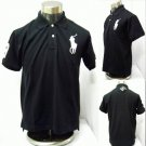 Polo - Black w/White