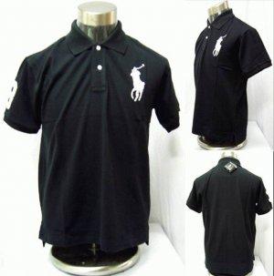 Polo - Black w/White