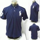 Polo - Navy w/Tan