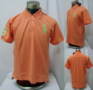Polo - Oragne w/Green