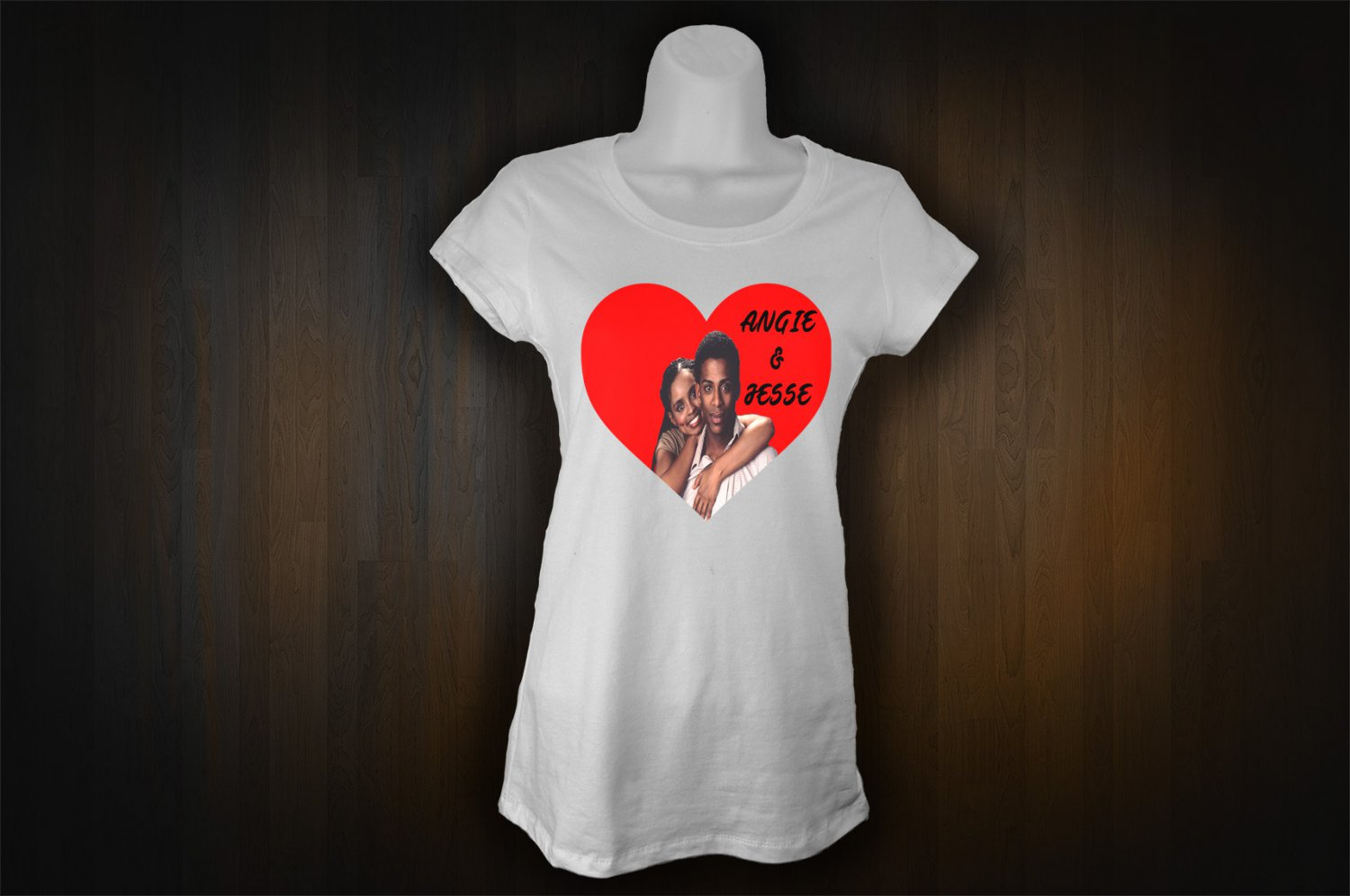 ANGIE AND JESSE T-SHIRT(3X-LARGE) ALL MY CHILDREN